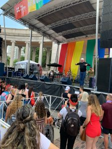 Pride fest 2019 in Denver, CO